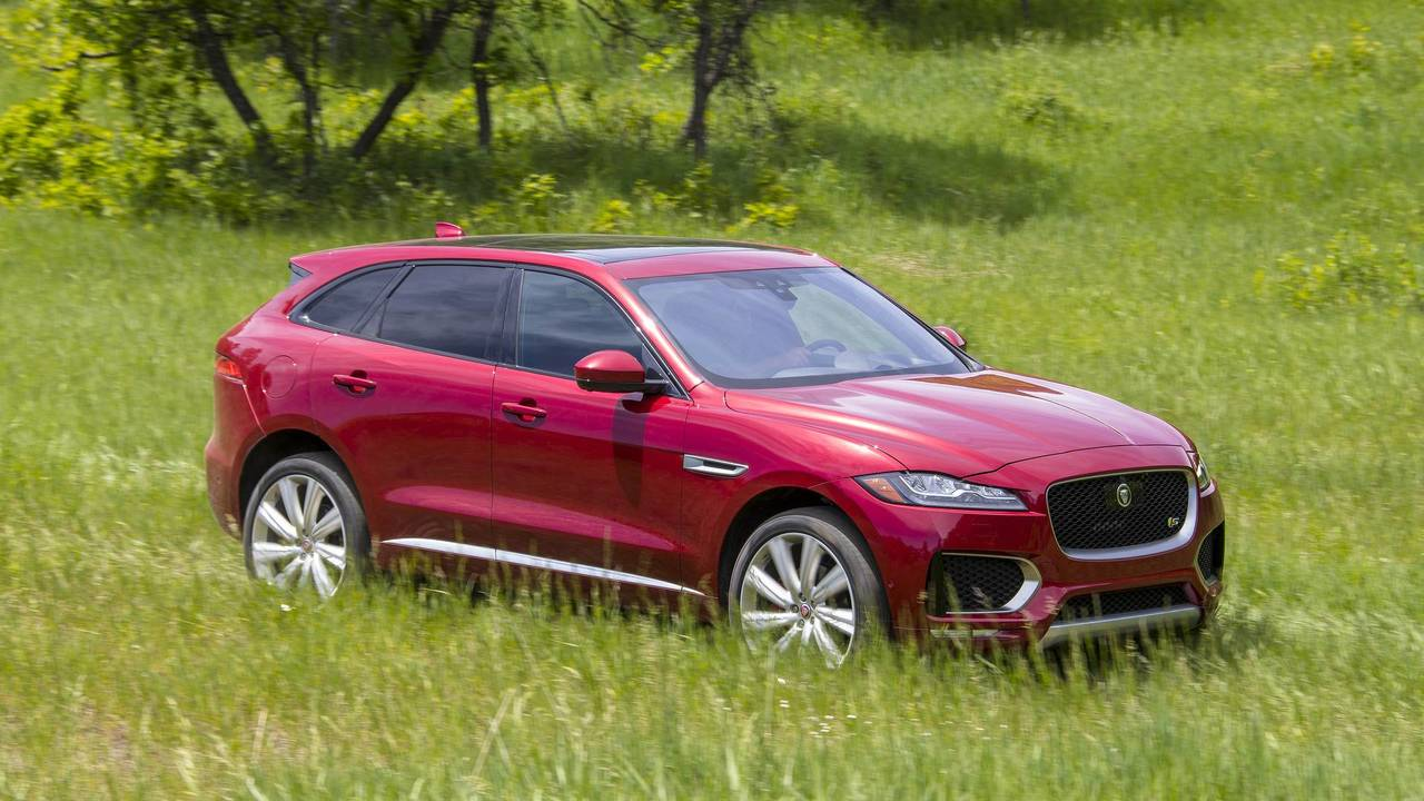 2017 World Car of the Year: Jaguar F-PACE