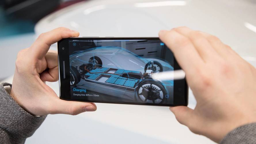 Porsche virtual reality gives fans a glimpse of Mission E tech