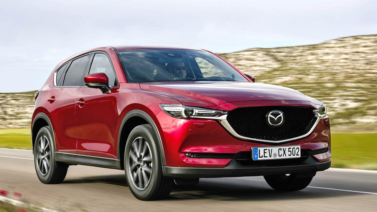 Harte Konkurrenz im Finale: Mazda CX-5