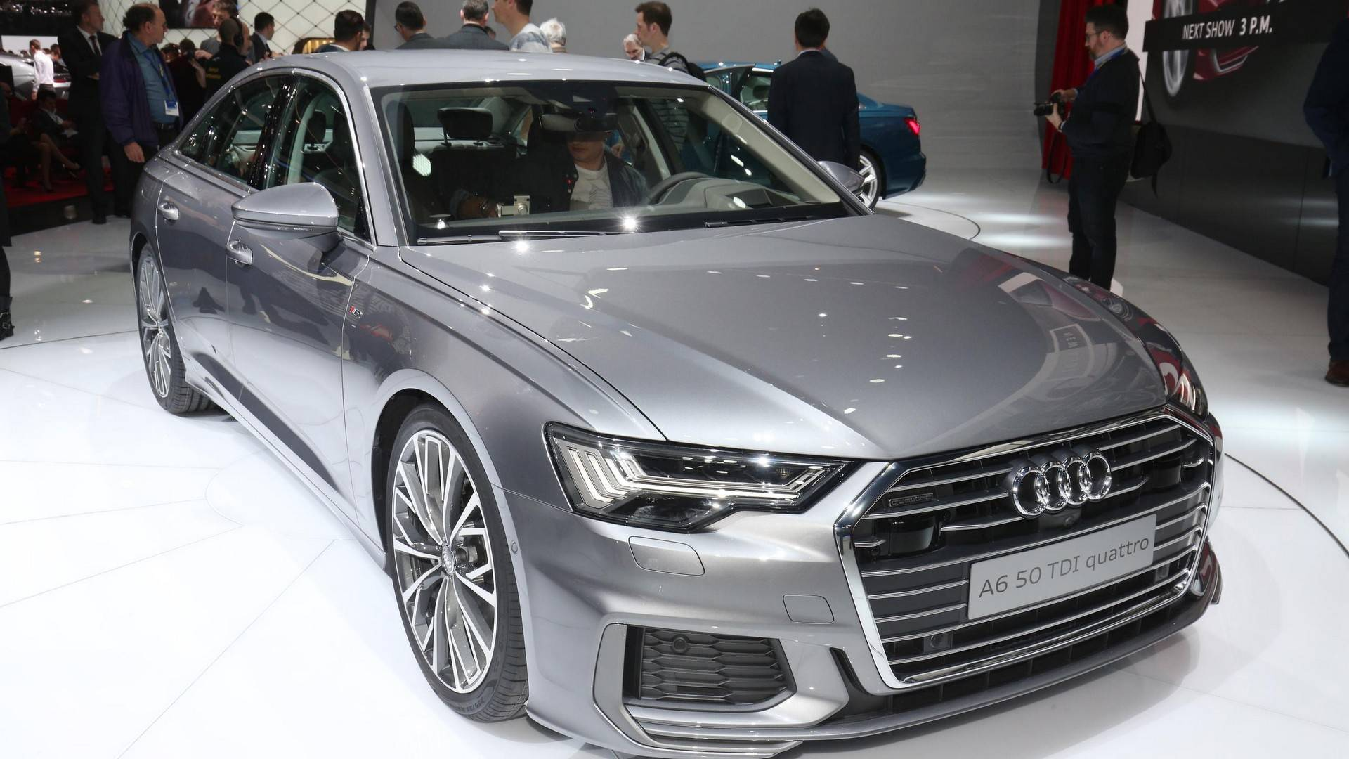 2019 Audi A6 Live From Geneva Motor Show