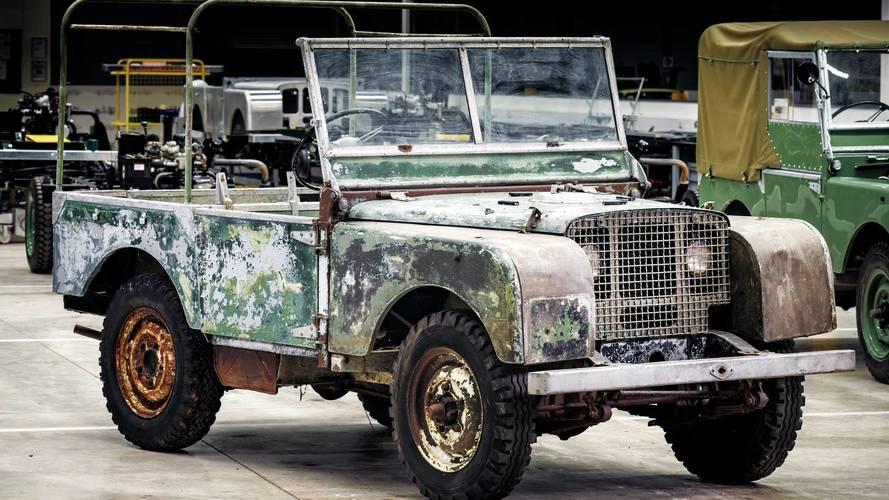 Land Rover restaure son tout premier modèle pour ses 70 ans