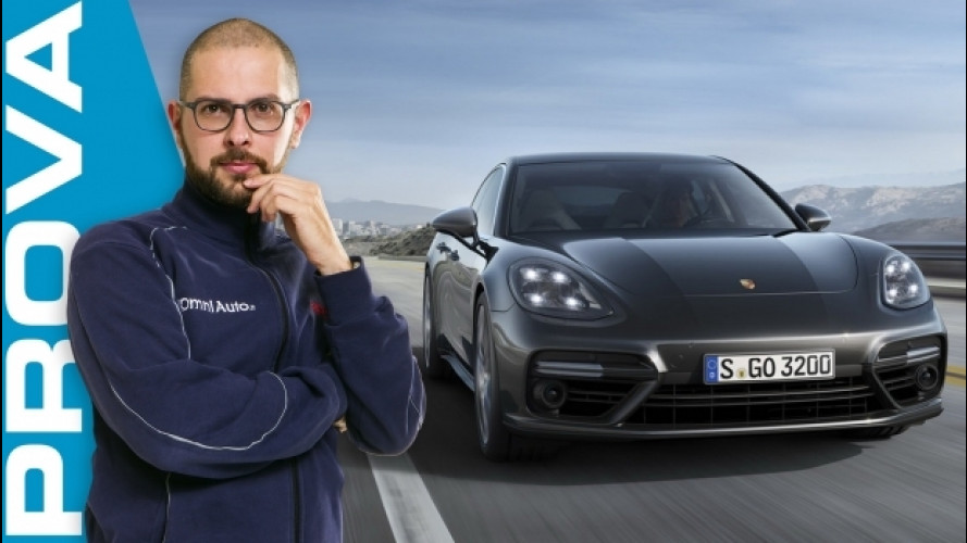 Porsche Panamera Turbo, over the top [VIDEO]