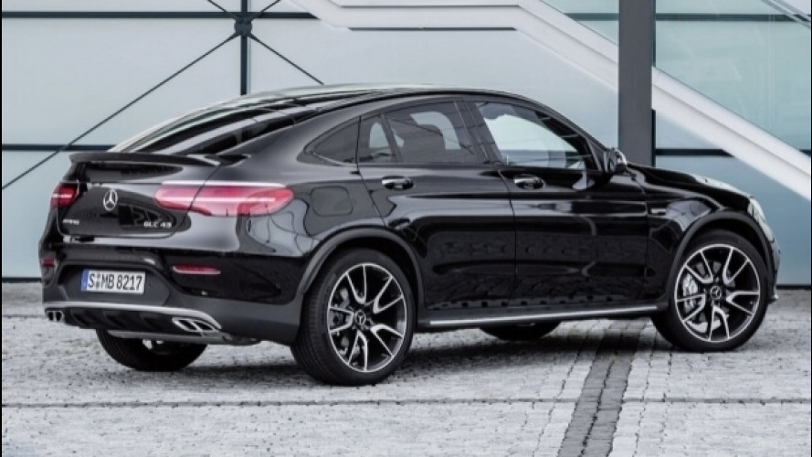 Mercedes-AMG GLC Coupé, tra moda e cattiveria