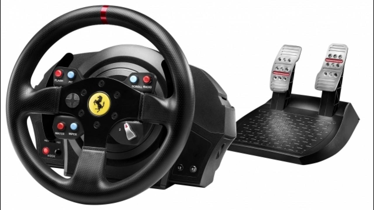 [Copertina] - Thrustmaster T300 Ferrari GTE, volante da professionisti [VIDEO]
