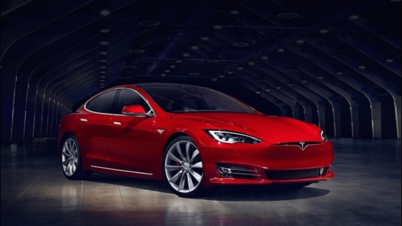 [Copertina] - Tesla Model S P100D, più rapida della Ferrari F12 in accelerazione