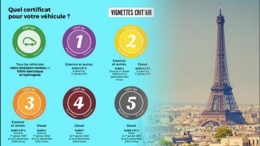 [Copertina] - Smog, a Parigi arrivano i bollini identificativi