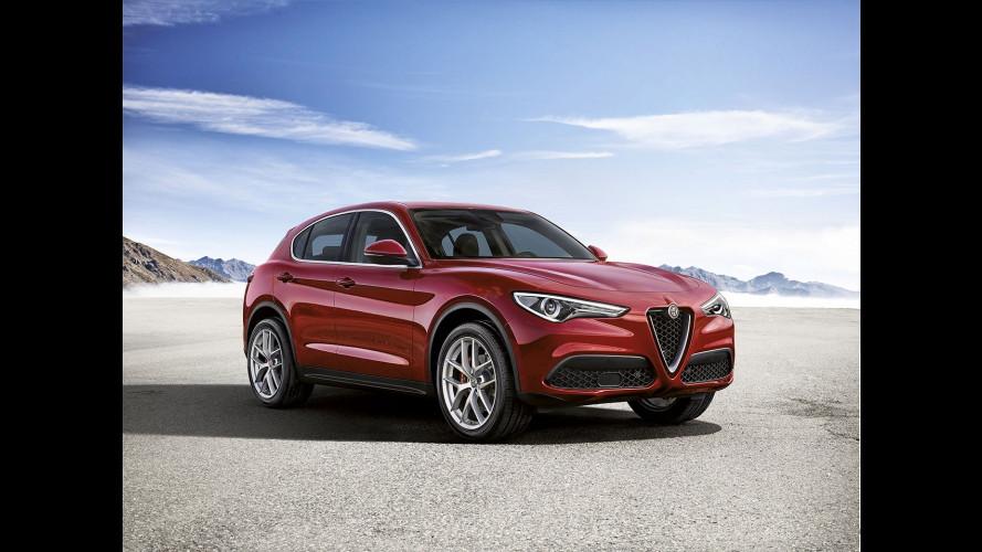 Alfa Romeo Stelvio First Edition, si può già ordinare a 57.300 euro