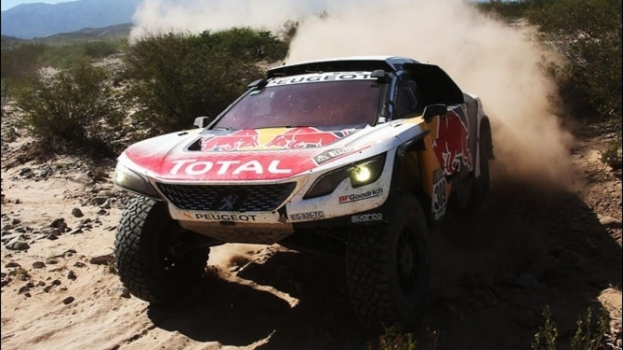 [Copertina] - Dakar 2017, Loeb di nuovo a segno