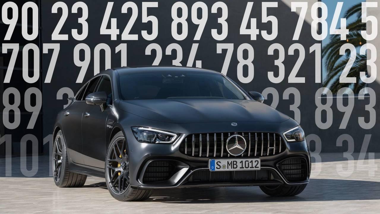 Mercedes-AMG GT Coupe 4-Door