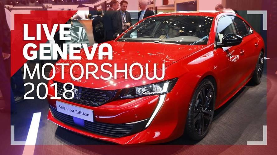 Genève 2018 - La Peugeot 508 en vidéo