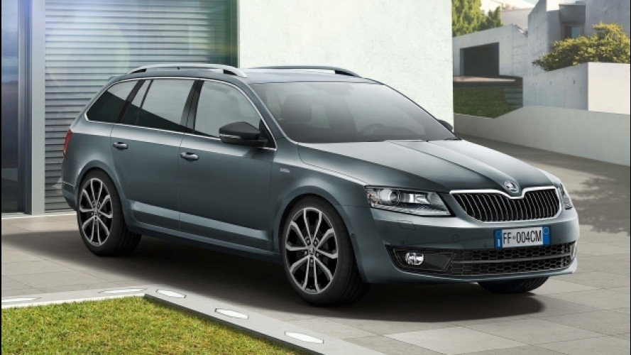 Skoda Octavia Wagon ora è anche Design Edition