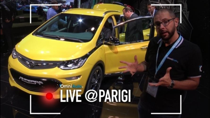Salone di Parigi, la Opel Ampera-e supera i 500 km in elettrico