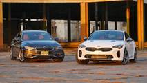 BMW 430i Gran Coupe vs. Kia Stinger GT