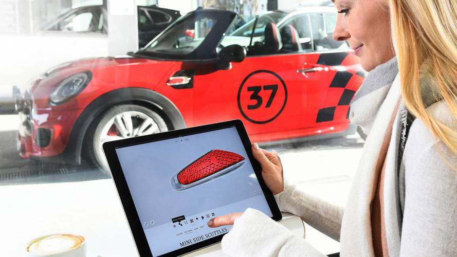 Mini's 3D printed parts are a whole new level of personalisation