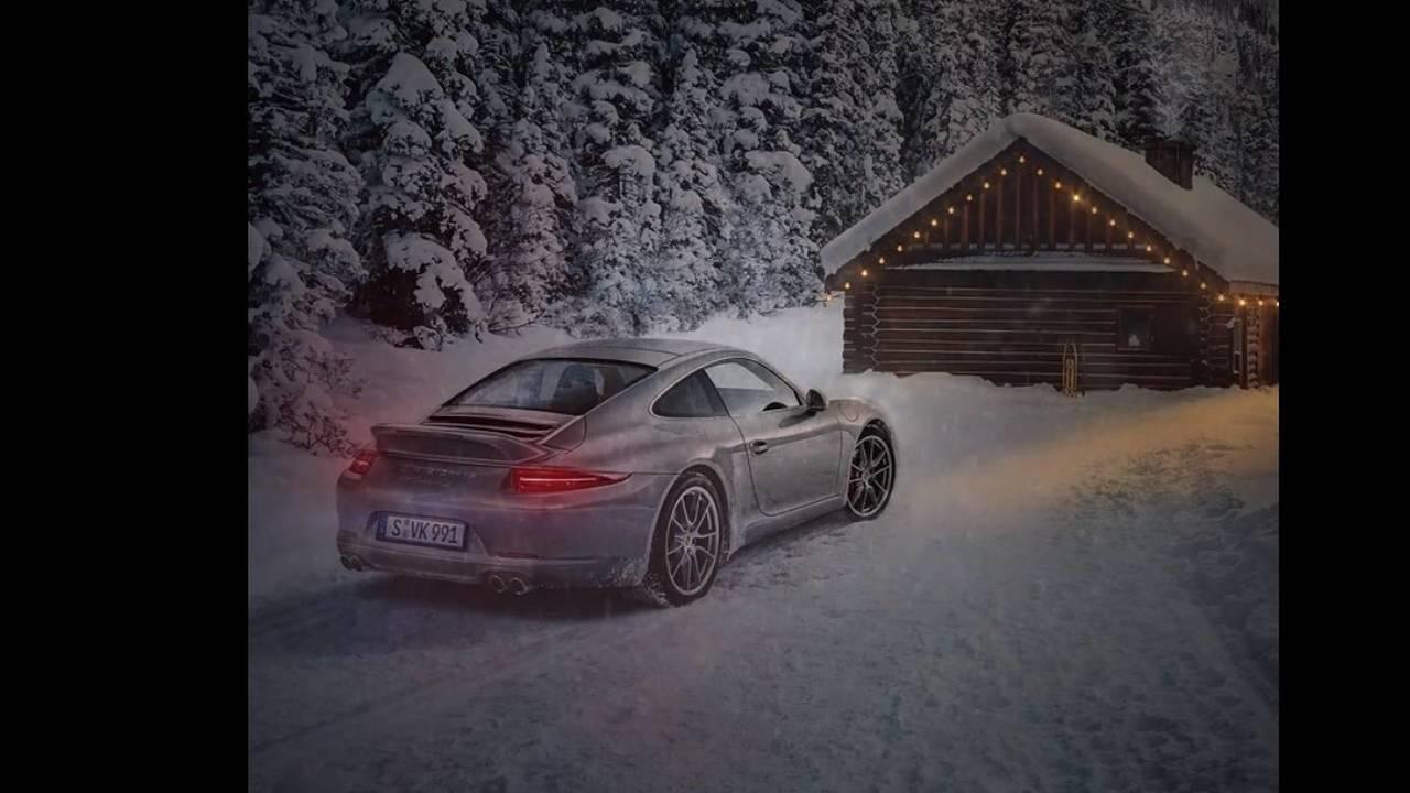 Porsche karácsonyi üdvözlet