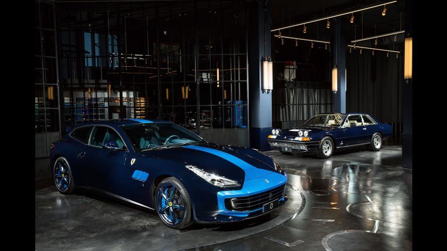Ferrari GTC4 Azzurra par Garage Italia