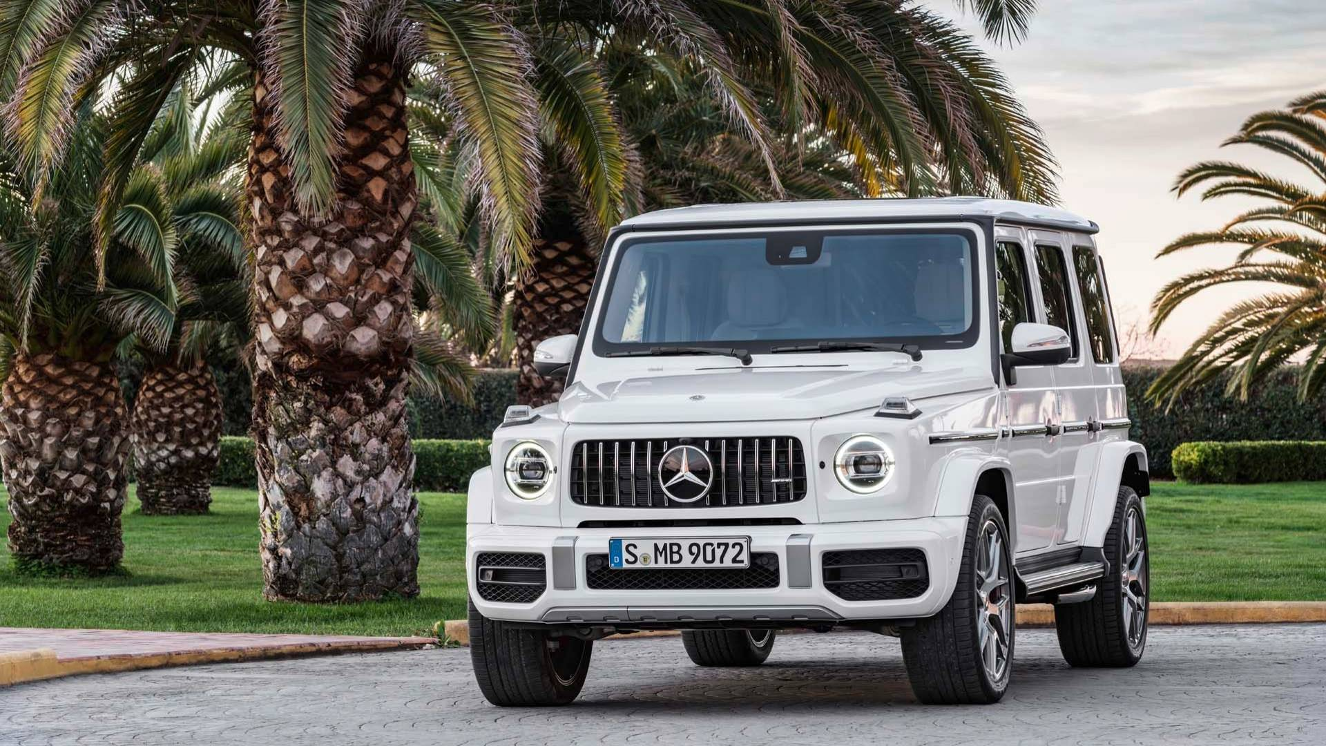 New 2019 Mercedes Benz G Amg 63 Suv In Coral Gables Fl