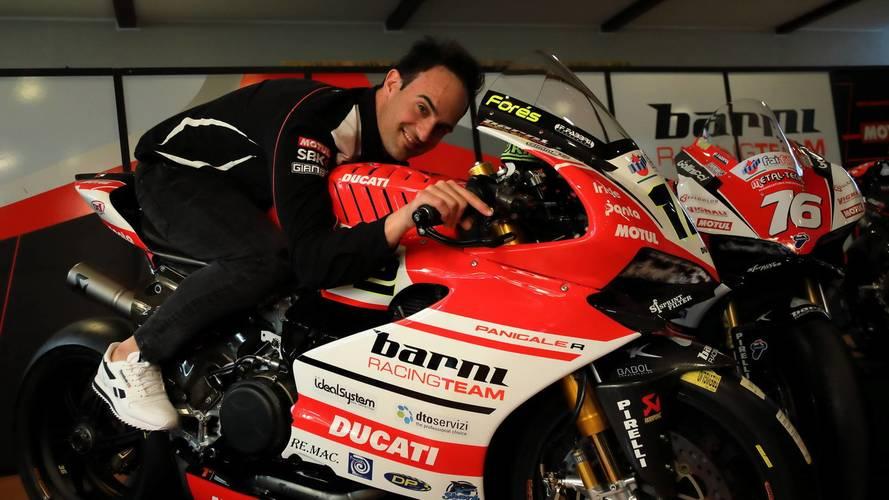 El Ducati Barni del WorldSBK aspira al podio con Xavi Forés