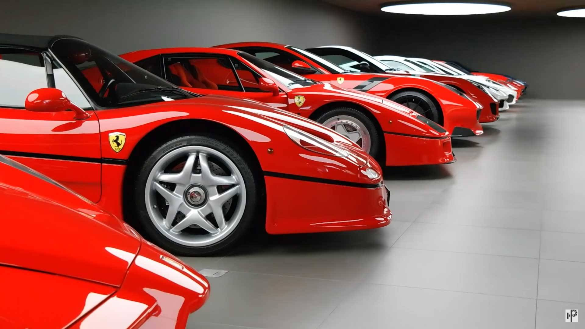 2886dbe114 This Amazing Ferrari Collection Is Prancing Horse Perfection