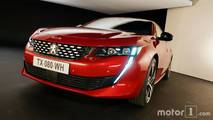 Peugeot 508 (2018) shooting studio