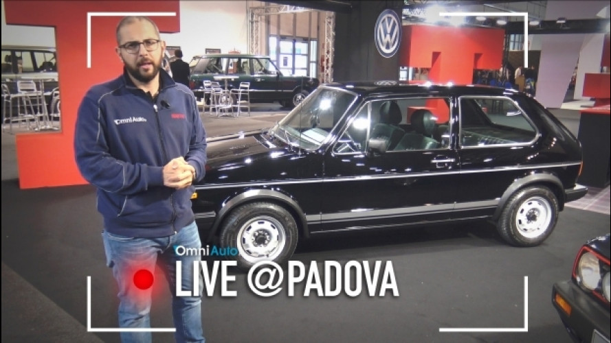 Volkswagen Golf GTI, i suoi 40 anni a Padova