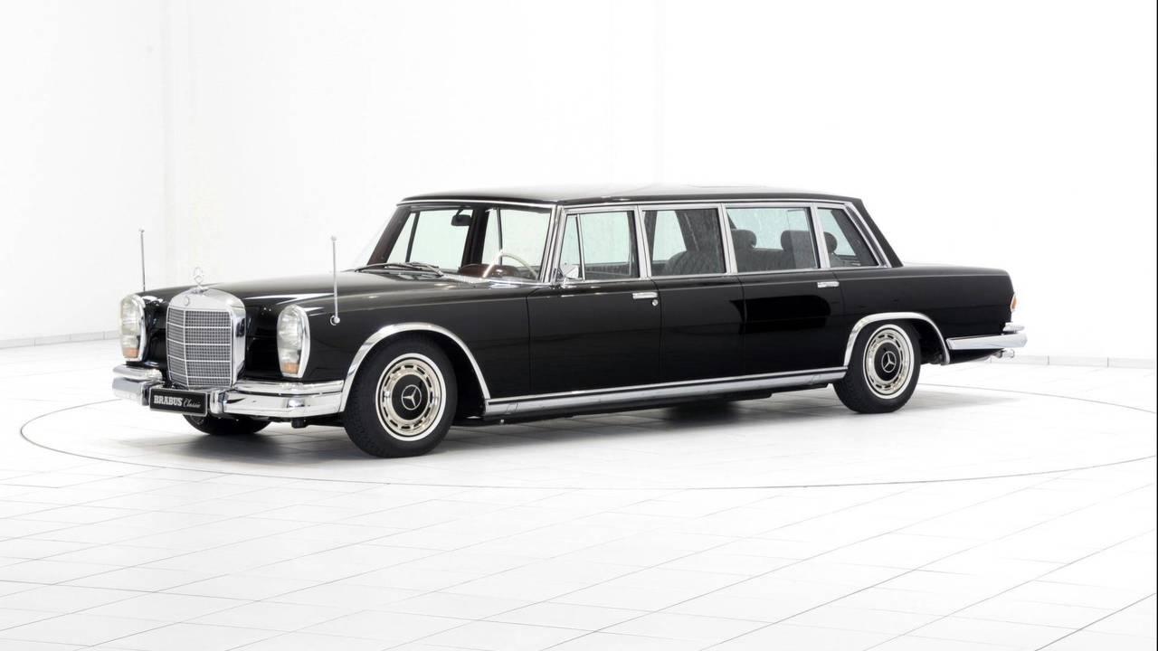 3.- Mercedes-Benz 600 Pullman