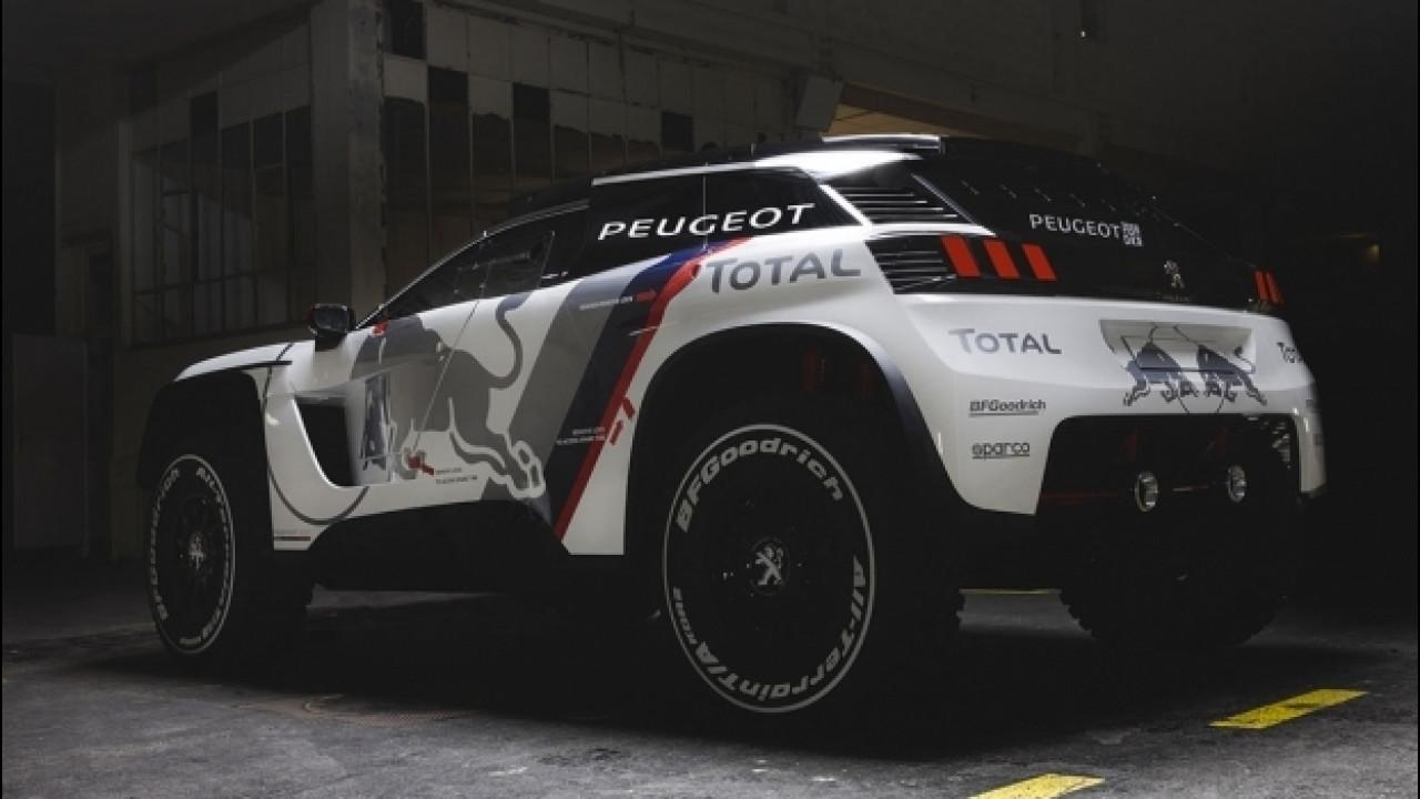 [Copertina] - Peugeot 3008 DKR, nuova linea per il Rally Dakar 2017