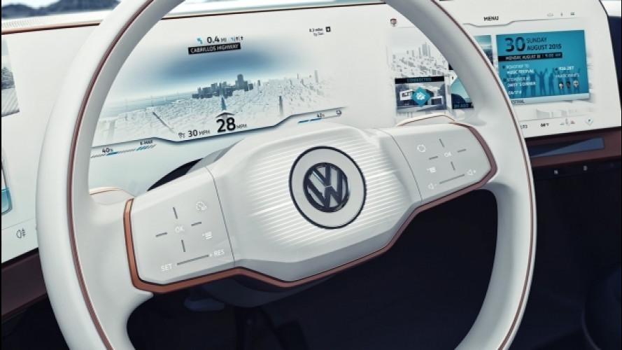 Volkswagen EV hatchback, la prima elettrica di una lunga serie