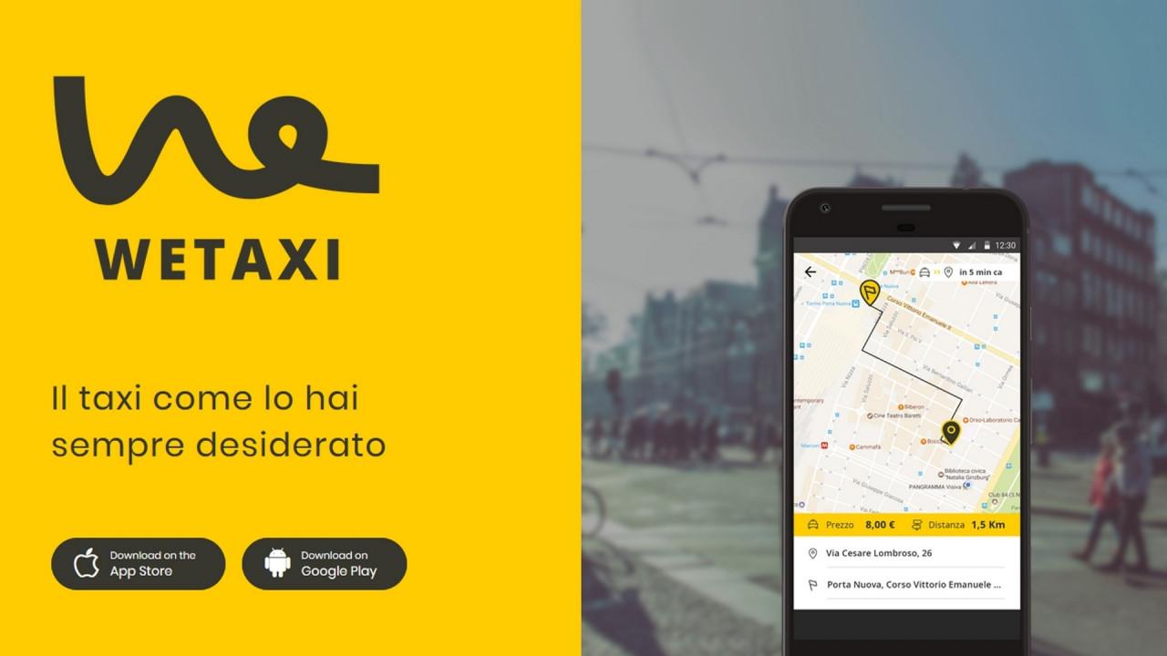 [Copertina] - App Wetaxi a Torino, in aeroporto col taxi condiviso a metà prezzo