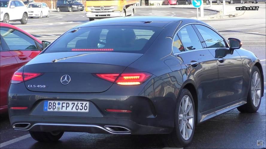 Mercedes CLS 450 Almanya'da yakalandı