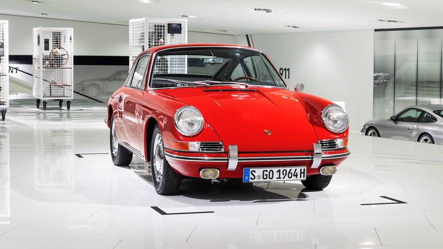 Porsche Museum Debuts Its Oldest 911, An Original 901