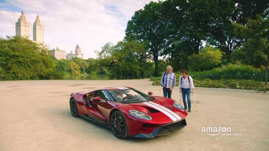 The Grand Tour Races From NY to Niagara Falls In Ep 2 Teaser