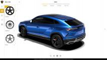 Lamborghini Urus, il configuratore online