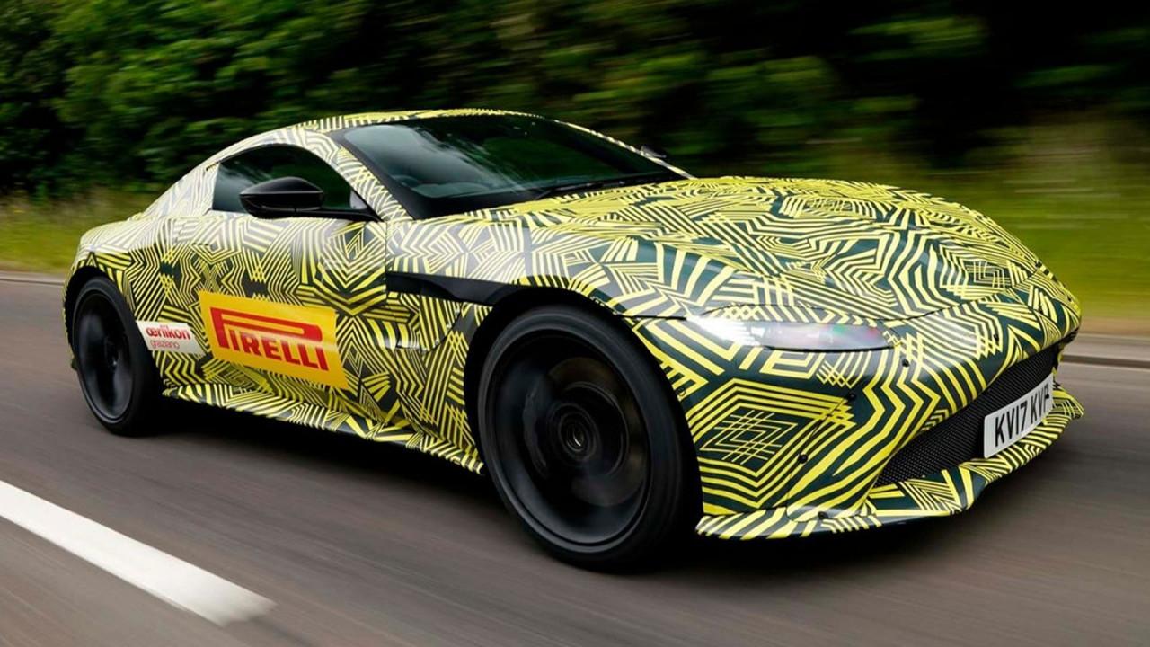 [Copertina] - Nuova Aston Martin Vantage, le prime foto