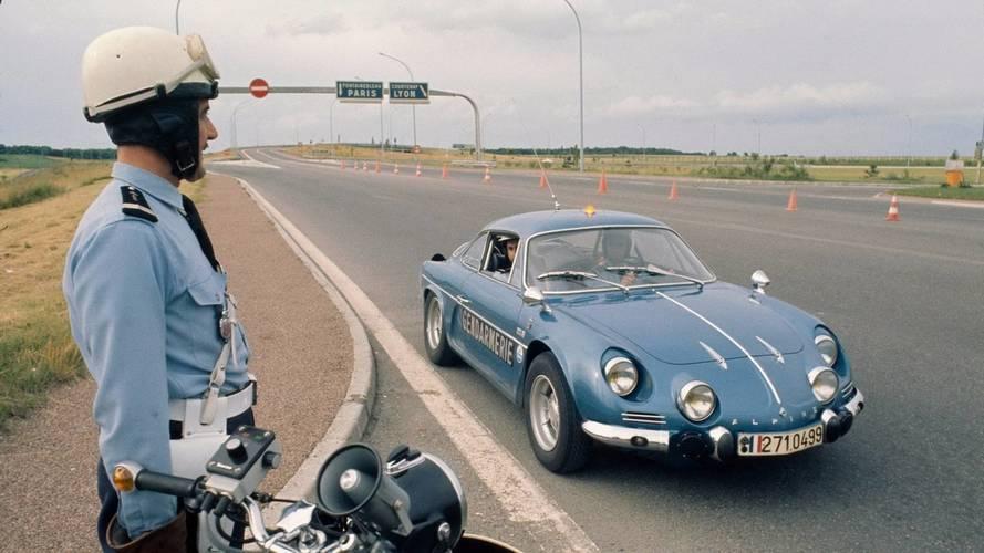Les voitures de la Gendarmerie