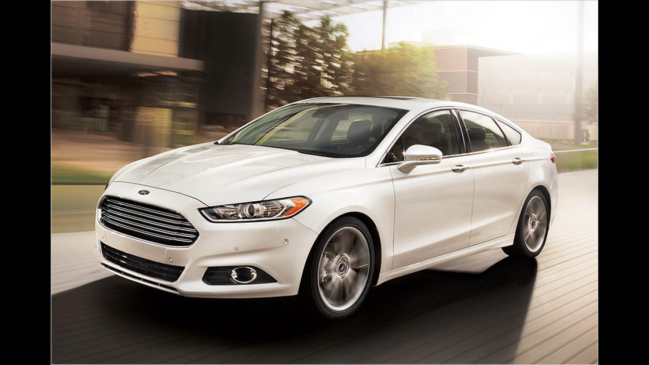 2013: Ford Fusion II