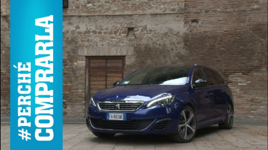 Peugeot 308 SW, perché comprarla... e perché no [VIDEO]
