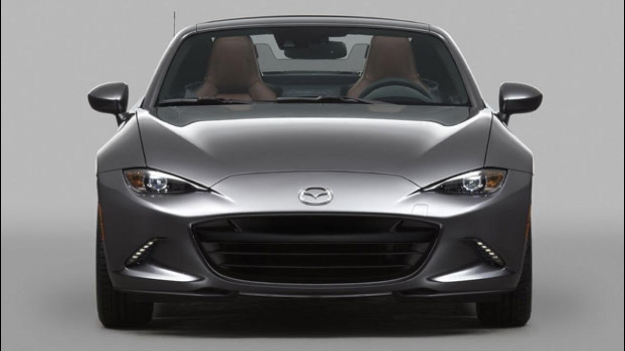 [Copertina] - Mazda MX-5 RF, debutto Europeo al Festival di Goodwood