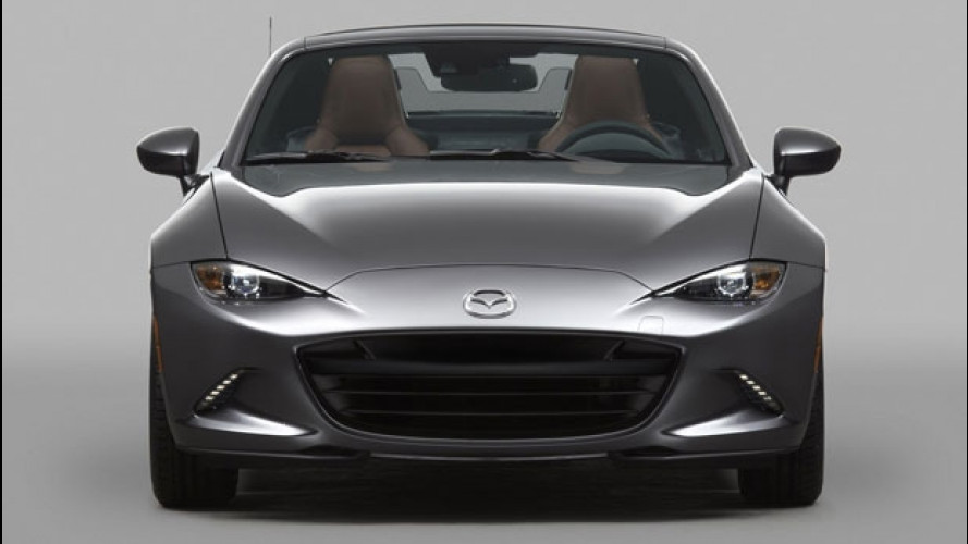 Mazda MX-5 RF, debutto Europeo al Festival di Goodwood