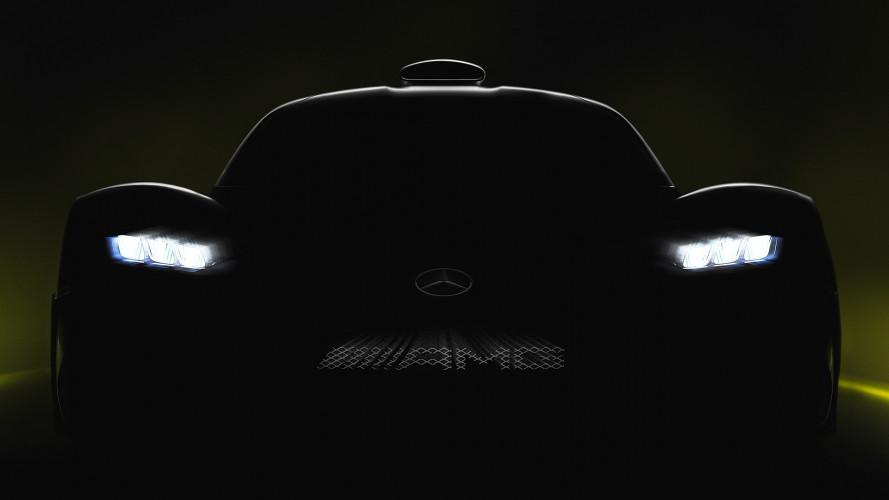 Mercedes-AMG Project One, nuova anticipazione dell'ibrida da oltre 1.000 CV