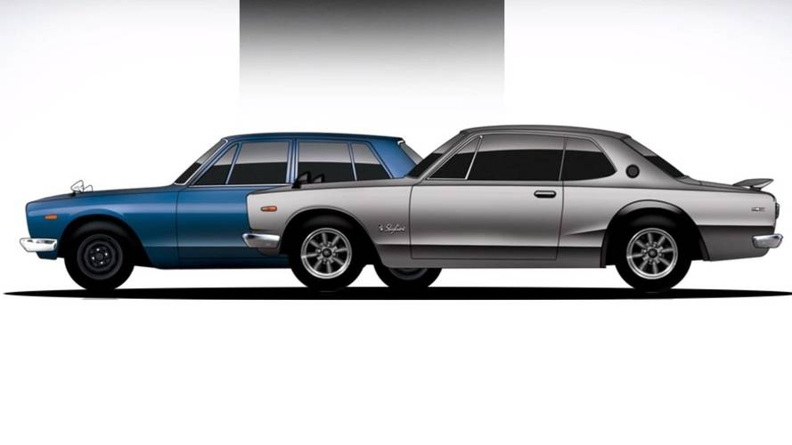 How Legends Are Born: Nissan Skyline
