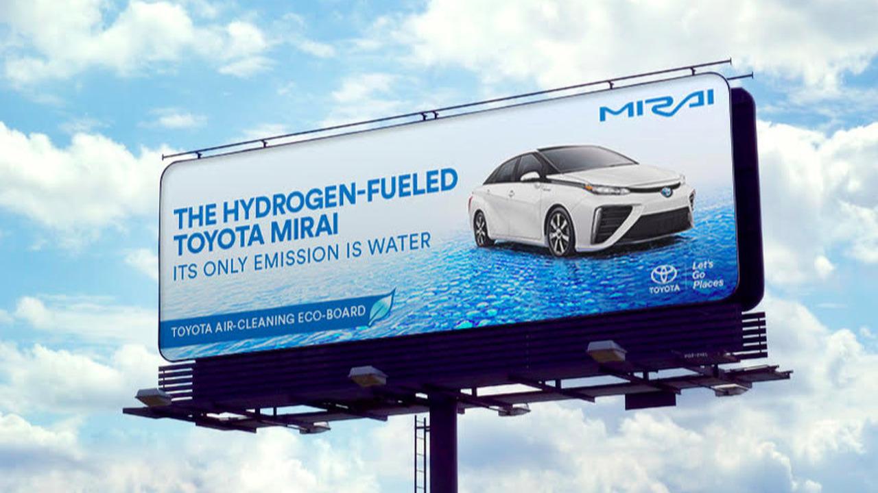 Toyota Mirai Billboard