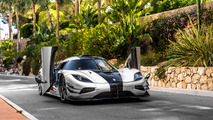 Koenigsegg One:1: Caught on the street