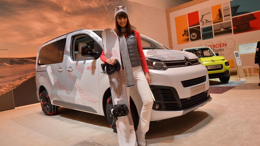 Genève 2017 - Le Citroën SpaceTourer 4X4 Ë Concept à l'assaut de Genève