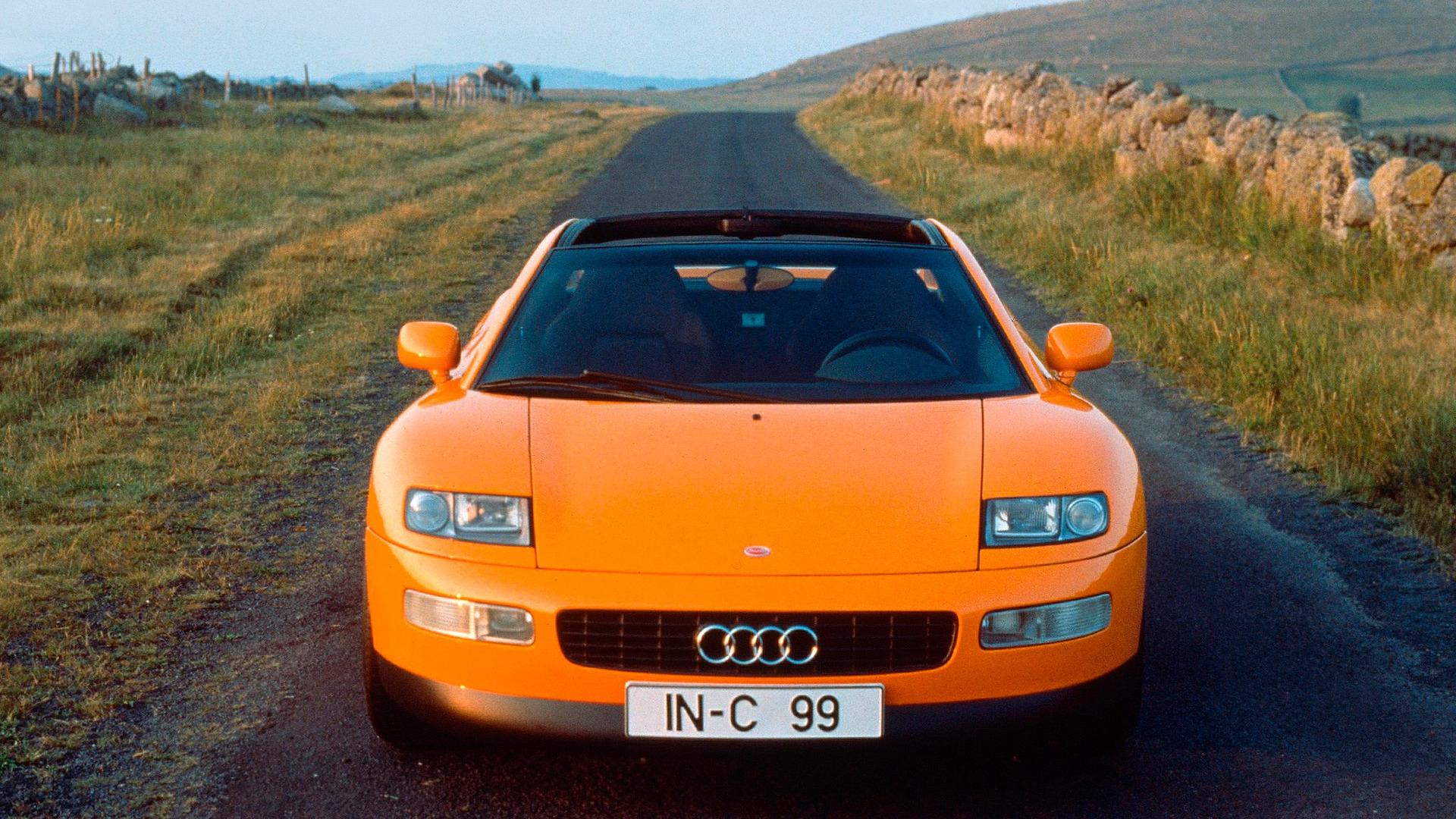 audi quattro spyder concept 1991