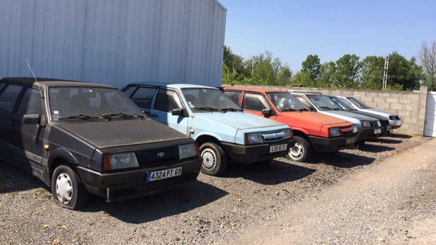Abandoned Lada Dealership Found In France