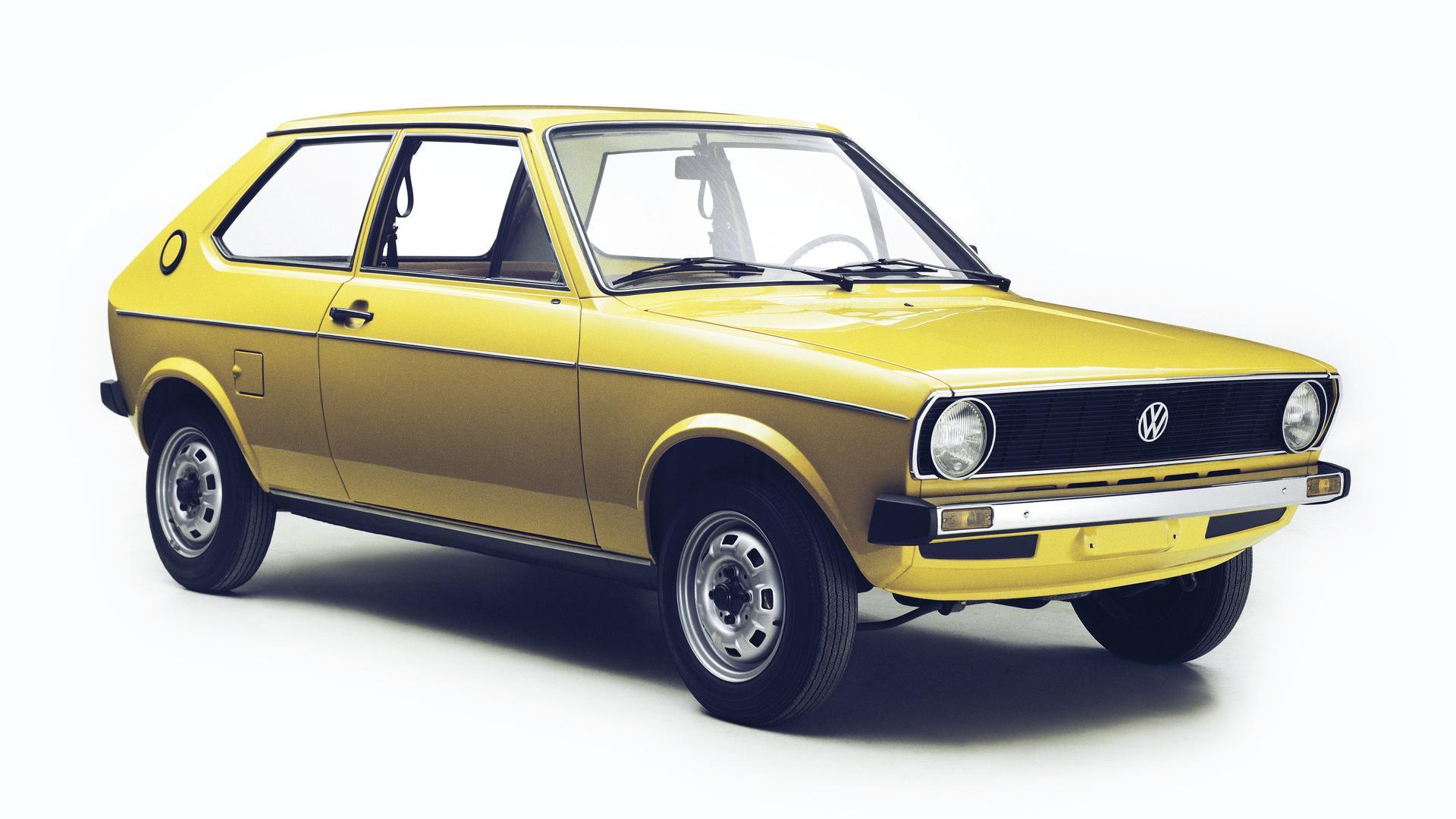 Foltswagen Polo - model history