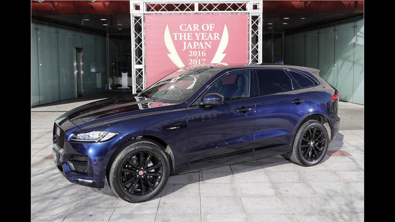Platz Sieben: Jaguar F-Pace