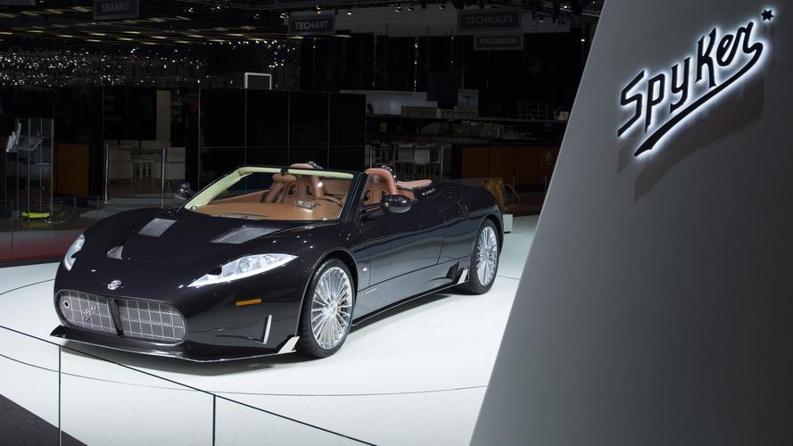 Spyker C8 Preliator Spyder Koenigsegg motoruyla tanıtıldı