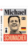 Le timbre Michael Schumacher